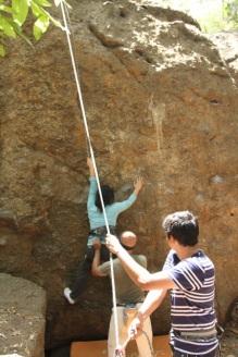 Borivali-National-Park-Rock Climbing